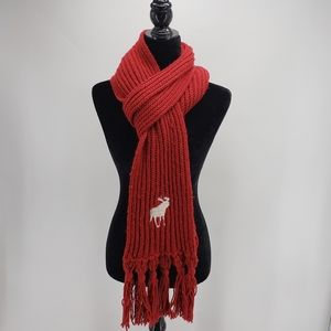 Abercrombie & Fitch | Knit Scarf | Red